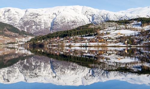 Ulvik by the Hardangerfjord
