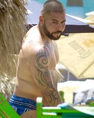 IMG_0774 (danimaniacs) Tags: shirtless man hot guy tattoo beard hunk jewelry stud scruff sext mansolo