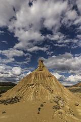 Bardenas (JorgedCPhotography) Tags: sky naturaleza nature clouds self mirror desert bardenas bardenasreales