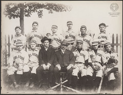 Kindelberger Baseball Team (Ohio County Public Library) Tags: baseball wheeling wheelingwv photobomb kindelberger