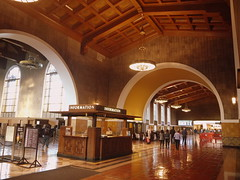 Los Angeles Union Station (John Csoka) Tags: california losangeles trainstation spanishmission losangelesunionstation