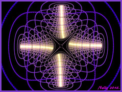 *The Cross...! (MONKEY50) Tags: blue abstract art digital purple cross fractal musictomyeyes autofocus flickraward contactgroups