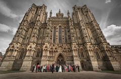'Unbalanced Group Shot' (Rep001) Tags: wedding photographer wells somerset catherdral d800