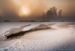 (Alex El Barto) Tags: winter snow ice landscape siberia siberian winterscape     angara  iceriver   trofimovphotocom