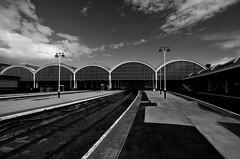 Paragon Station Hull (alanhoughton777) Tags: sky station clouds train fuji arches hull paragon kingstonuponhull cityofculture fujifilmxt1 fujixt1