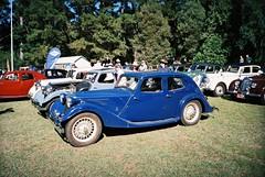 Classic blue car (Matthew Paul Argall) Tags: classic cars car classiccar superia classiccars bluecar superia200 kodakeasyload35ke60