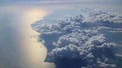 Cuba (KChio) Tags: sea sky costa clouds airplane island photography coast mar cuba cielo nubes isla fotografa