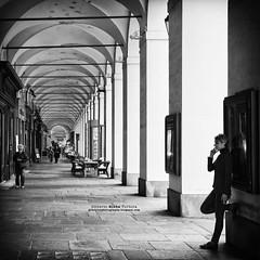 Torino (gilbertotphotography.blogspot.com) Tags: street people blackandwhite italy torino person strada italia gente streetphotography persone piemonte piedmont biancoenero fotodistrada