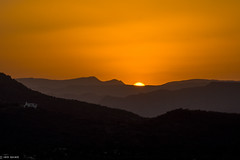 Sunset in Rajasthan | India (Hadi Zaher) Tags: sunset sky india mountain silhouette landscape outdoor dusk hill rajasthan udaipur foothill