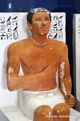 Ra-Hotep (konde) Tags: art statue ancient limestone hieroglyphs cairomuseum oldkingdom meidum 4thdynasty rahotep