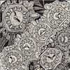 Klok (Klok #1) Example (molossus, who says Life Imitates Doodles) Tags: patterns steampunk zentangle zendoodle tanglepatterns zentangleinspiredart patterncollectionscom