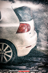 Car Wash-2 (Puparrazi PhotographY) Tags: auto road original sunlight white chicago cars wet water car vw volkswagen drive soap nikon automobile garage bubbles automotive carwash r owned d750 vehicle rims 2008 rare 32 coupe compact r32 lightroom driven