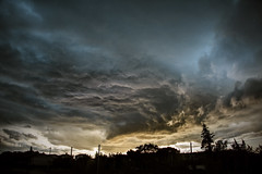 thunderstorm over cavaillon (jody9) Tags: sunset storm france thunderstorm provence