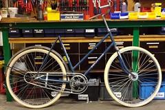 1950s-Simplex-Novum damesfiets (@WorkCycles) Tags: old ladies amsterdam bike bicycle restore oldtimer oud fiets simplex novum damesfiets workcycles fietsenmaker