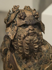 Bust of Silenus (failing_angel) Tags: usa newyork manhattan 5thavenue bust metropolitanmuseumofart silenus 290515