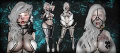 Hentai Cyborg (N G H T M R) Tags: sexy robot industrial bondage bdsm sl secondlife cyborg cyber hentai meca