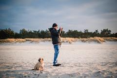 Tinto Tuesday (Margot in Love) Tags: dog beach strand deutschland shoot photographer pug balticsea hund tuesday prerow parker tinto puggle mecklenburgvorpommern i ishootaphotographer