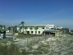 South Beach Grill (d-1@bellsouth.net) Tags: paint exterior florida crescentbeach 2tone refurbished southbeachgrill