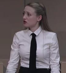 Proper Uniform 9 (Meinhardis66) Tags: rock tie maid bluse krawatte dienstmdchen governess gouvernante schuluniform schleifenbluse zchtig hochgeschlossen