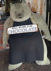 Will you ...? (France-) Tags: bear arizona sedona apron teddybear mots ours tablier nounours