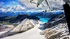 View from above (talv_ss) Tags: travel lake snow canada mountains rockies whistler landscapes nikon britishcolumbia aerial glaciers blackcomb flyby viewfromabove travelphotography d610 lakegaribaldi blackcombmountains