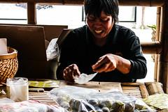 Working Hands (cembks) Tags: china orange rural hands village working medicine worker cultural