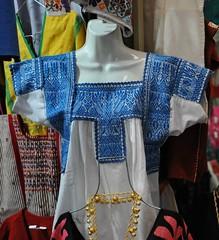 Embroidered Nahua Blouse Mexico (Teyacapan) Tags: mexico embroidery mexican textiles tehuacan puebla bordados blouses nahua sanmateotlacoxcalco