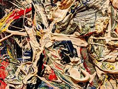 Pollock up close-1 (albyn.davis) Tags: abstract color art colors painting paint abstraction pollock fluidity