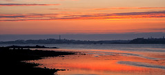 Coucher de soleil  Roscoff (Bretagne) (jjcordier) Tags: rouge roscoff bretagne atlantique ledebatz