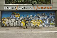 Mr Chat (@necDOT) Tags: streetart graffiti marais parsi mrchat thomavuille