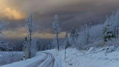 (blogspfastatt (+3.000.000 views)) Tags: road winter sky cloud snow landscape nice hiver route ciel neige wintertime nuage saison pfastatt blogspfastatt