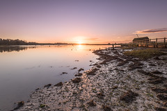 Sunrise at Kyson Point (Nick_Rowland) Tags: sky beach water sunrise dawn suffolk martlesham woodbridge riverdeben