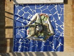 Ceramic Triskelion (dlge) Tags: italy ceramics italia sicily sicilia siracusa ortigia triskelion