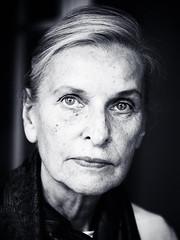 Lady II (kullekuck) Tags: old blackandwhite white black beautiful beauty fashion lady female eyes elderly 500px ifttt
