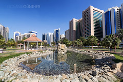 The Capital Garden, Abu Dhabi (domingo_95) Tags: park city vacation green tourism nature water canon garden holidays cityscape united capital uae sightseeing tourist emirates arab abu dhabi tamron the 1024 60d