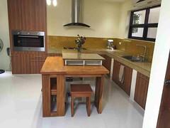 Modular kitchen cabinet with solid wood combination  #kitchen #modular #renovation #condofitout #interiordesign #homewoodscreation  http://homewoodscreation.ph , http://facebook.com/homewoodscreation (Homewoodscreation) Tags: kitchen modular renovation interiordesign homewoodscreation condofitout