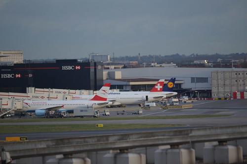LHR Plane Spotting