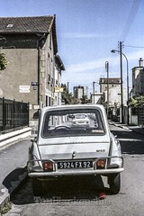 Purely French Citroen aml-6 in Paris (Tom Blankenship Photography) Tags: paris france architecture photographer citroen photographers architectural colombes tomblankenship aml6