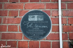 Birthplace of John Lennon (gigchick) Tags: england liverpool tour cab taxi beatles birthplace lennon johnlennon fab4 thebeatles fabfour