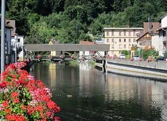 Enz bei Neuenbrg (thobern1) Tags: river germany fluss schwarzwald blackforest woodenbridge badenwrttemberg holzbrcke enz neuenbrg enzkreis
