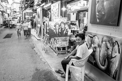 Hua Hin art shop