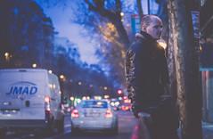 6:52 - Stay (far away, so close) - U2 (susivinh) Tags: madrid street city portrait urban music night standing lights luces noche stand calle waiting traffic retrato think thoughtful ciudad trfico pensive urbano msica esperando pensar stay pensando quedar posado 52weeks juancarlospascual