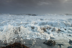 Chaos (jillyspoon) Tags: storm water canon scotland rocks waves crash frothy swell crashingwaves irishsea machars canon70200 monreith 70d wigtownshire canon70d stormhenry