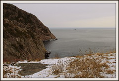 Cuckold's Cove (Tracy Christina) Tags: ocean winter snow canada newfoundland boat hiking february