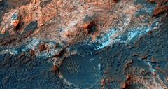 Clays Near Mawrth Vallis, variant (sjrankin) Tags: mars edited nasa clay rgb marsreconnaissanceorbiter mawrthvallis esp0141392070 26january2016