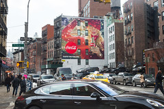 Coca Cola (Colossal Media) Tags: nyc red advertising colorful cola outdoor soho coke ooh cocacola coca colossal complete streetlevel m130 cpg colossalmedia skyhighmurals alwayshandpaint cocacolacomplete