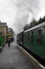 IMGP8421 (Steve Guess) Tags: uk england train engine loco hampshire steam gb locomotive alton ropley alresford hants fourmarks medstead