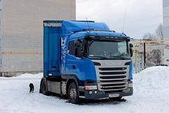 Scania G400  O 707 MA 45 (RUS) (zauralec) Tags: auto car ma o 45 truk 707 scania rus   g400  kurgan      kurgancity streetkurtamyshskaya