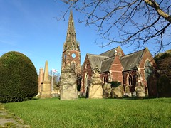 Photo of Bright Winter's day - All Saints Church Thornton Hough