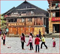 Children in Chenyang, Guizhou (Bruno Zaffoni) Tags: china children bambini cina
